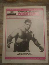Sammartino MINT1974 Wrestling program WWWF NWA Morales MSG awa Brisco Kobayashi