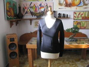 MAGLIA  Donna  San Diego Jeans  , nero , Taglia M  - Made in Italy