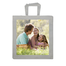 PERSONALISED CUSTOM PRINTED Photo Tote Shopping Bag Gift with picture text logo