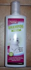 Shampooing chien Flamingo Pelage blanc 300ml