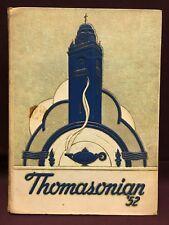Thomasonian 1952 St. Thomas High School yearbook, Detroit Michigan