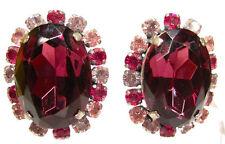 Ovaler Mode-Ohrschmuck aus gemischten Metallen mit Clips