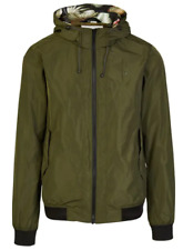 Scotch & Soda Men's Lightweight Travel Jacket Hooded Size Small Style 142291