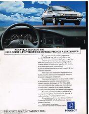 Publicité Advertising 1992 Peugeot 405