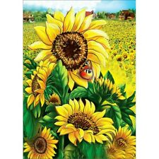 Sunflower Full Drill 5D Diamond Painting Cross Stitch Embroidery Art Kits DIY