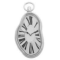 NEW! SALVADOR DALI INSPIRED MELTING WALL CLOCK - PERSISTENCE OF MEMORY TIME WARP
