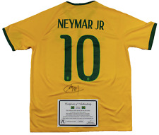 NEYMAR JR. SIGNED NIKE® JERSEY w/COA Brazil Authentic Rare Autographed Soccer