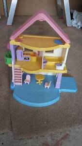DOLL'S HOUSE with furniture