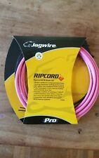 Jagwire Ripcord Mountain Bike Brake Cable Set - Hot Pink Colour. New.