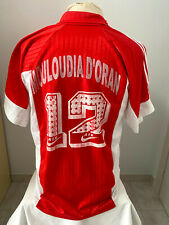 maglia Algeria maillot Mouloudia D'Oran 90' match worn shirt MC Oran vintage