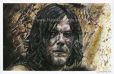Norman Reedus / Daryl Dixon - The Walking Dead - Poster / Art Print
