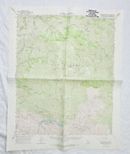 New ListingGibraltar Dam California Quadrangle Topographic Map Vintage 1964 Usgs Ca Dwr Sb