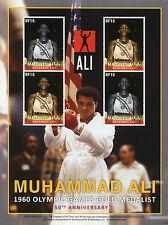 Maldive 2010 MNH Muhammad Ali 1960 GIOCHI OLIMPICI ORO Medalist BOXE 4V M / S II