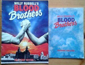 Individual Blood Brothers programmes 1990-2010, Phoenix Theatre programme