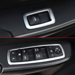 Window Switch Cover For Grand Cherokee KL WK2 Journey Interior Accessories Trims