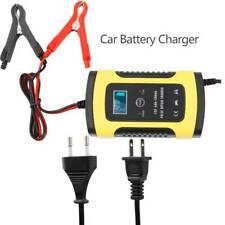 Caricabatterie Mantenitore Batteria Auto E Moto Portatile Con Cavetti 12v 6a