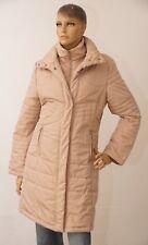 Damen Jacke beige braun Damenjacke Winter Winterjacke 36 38 (1711G-PA-OH3#)