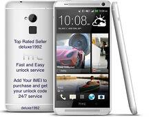 Unlock Code HTC ONE X S V M7 M8 M9 DESIRE 601 510 320 AT&T USA