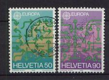 Svizzera 1988 sg#1149-50 EUROPA USATO Set #4