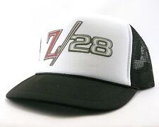 Chevrolet Camaro Z28 Trucker Hat mesh hat snap back hat black new adjustable