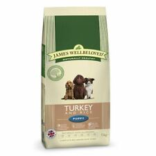 James Wellbeloved Complete Dry Puppy Food Turkey and Rice, 15 kg