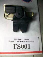1999 Toyota Avalon Power Trunk Latch Mechanism OEM #TS001
