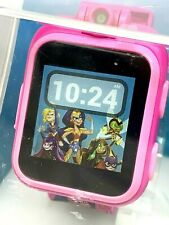itouch Super Hero Girls Play Zoom Kids Smartwatch Games Camera Interactive Pink