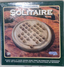 Gibson Games Traditional Solitaire - Hardwood - BNIB