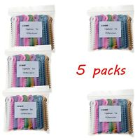 5 Packs Dental Orthodontic Ligature Ties Mixed Colorful 1014pcs/pack AZDENT