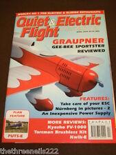 QUIET & ELECTRIC FLIGHT INTERNATIONAL - GRAUPNER - APRIL 2003