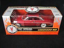 Ertl 1961 Pontiac Catalina Coronado Red L.E. 1/504 made for the world 1:18 Scale