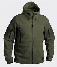 Helikon Tex Patriot Heavy Fleece Outdoor Hooded Jacket OD Green Olive XLarge
