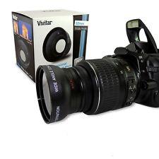 HD Super Wide angle 52mm fisheye w/ macro for Nikon D90 D3200 D5200 D5300 D3200