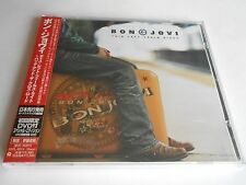 BON JOVI THIS LEFT FEELS RIGHT GREATEST HITS CD/DVD JAPAN IMP BONUS TRACKS OBI