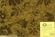 Pindler Olive Green Carinthia Monotone Floral Chenille Designer Fabric Sample