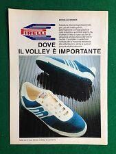 PY26 Pubblicità Advertising Clipping 24x18 cm (1985) PIRELLI SCARPE SHOES