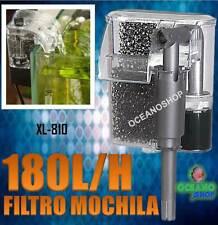 FILTRO EXTERIOR 180L/H MOCHILA bomba 2W ACUARIO CASCADA Pecera EXTERIOR nano