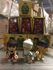 "Bruce Lee's Temple Of Kung Fu Series 1, 3"" Figures, LOT Of 5 All Different"
