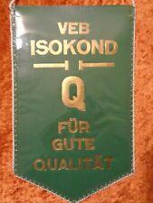 Pennant VEB Isokond Q - Best Qualitätskollektiv - Winner in Socialist