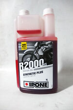 Aceite Mezcla Ipone R 2000 RS Synthetic Plus Semisintetico 2T Motor Oil Mix 1L