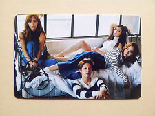 FX F(X) 2016 Season's GREETINGS CALENDAR [ OFFICIAL ] PhotoCard - Group (B type)