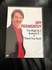 Jeff Foxworthy: Check Your Neck  You Might Be A Redneck If... (DVD, 2004)