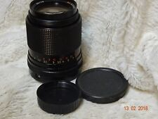 CARL ZEISS JENA DDR  MC 135mm 1:3.5  S PRIME LENS M42 MOUNT in fair CONDITION