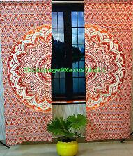 Indische Urban Mandala Vorhänge Tapisserie Drapes Fenster Behandlung wandbehang