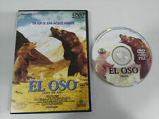 EL OSO THE BEAR JEAN-JACQUES ANNAUD DVD ESPAÑOL ENGLISH REGION 2