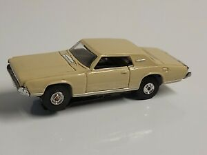 original vintage aurora tjet tan 1967 Ford Thunderbird nice