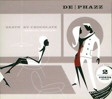 DE-PHAZZ = death by chocolate =CD= ELECTRO JAZZ DOWNTEMPO DANCE GROOVES