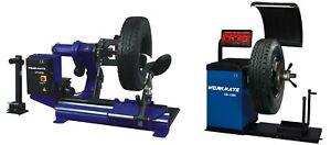 Truck Tyre Changer & Wheel Balancer Machine Combo-3 (CE Standard)