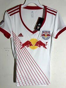 Adidas Women's MLS Jersey New York Red Bulls Team White sz XL