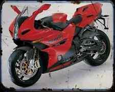 BENELLI Tornado Tre RS 04 2 A4 Metal Sign moto antigua añejada De